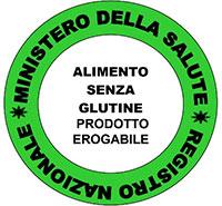 Ministero della Salute - Alimento senza glutine - prodotto erogabile