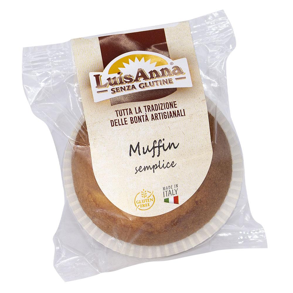 Monoporzione Muffin classico senza glutine LuisAnna gluten free