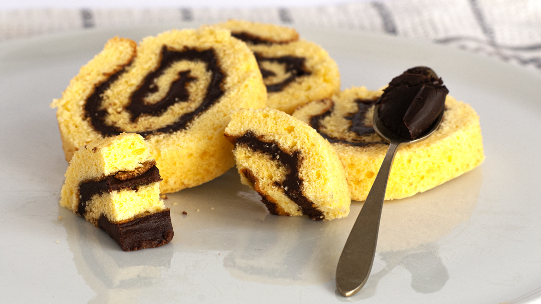 CiokoRoll - Pan di spagna senza glutine Luisanna Gluten Free
