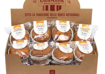 Muffin con confettura di albicocche