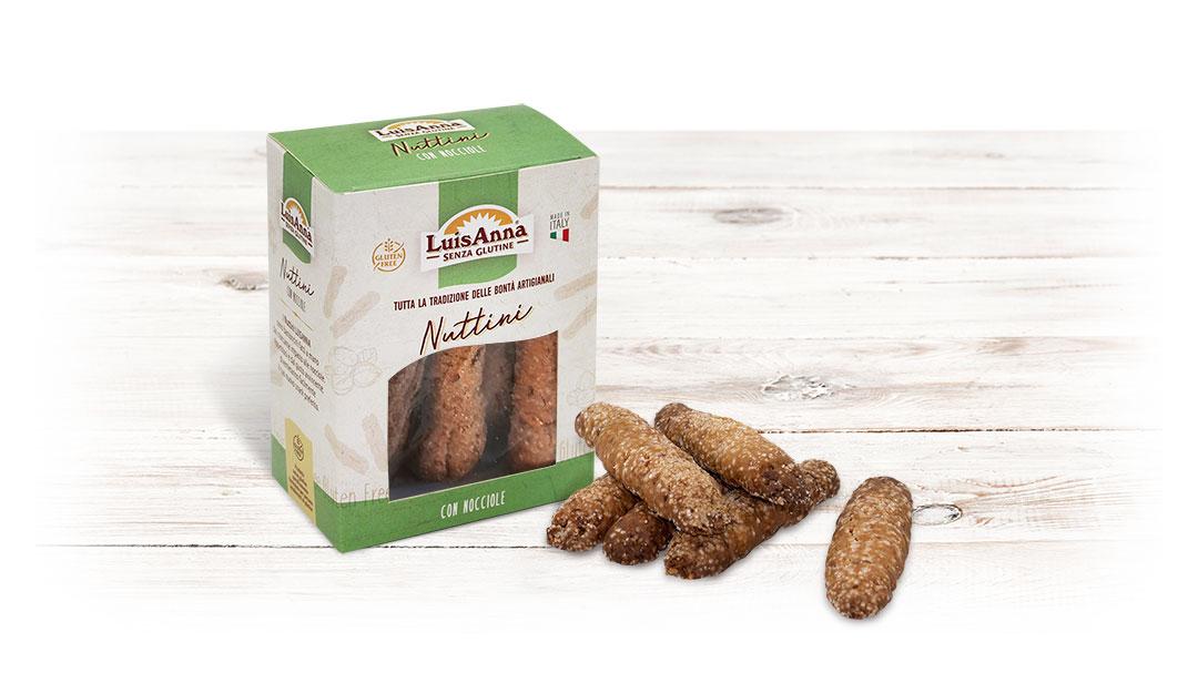 Nuttini senza glutine LuisAnna gluten free