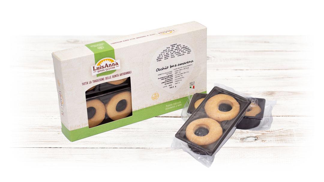 Occhio di bue amarena senza glutine LuisAnna gluten free