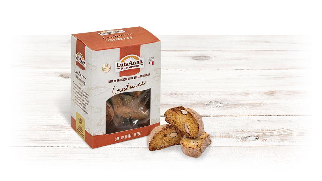 Cantucci senza glutine LuisAnna gluten free