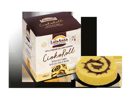CiokoRoll senza glutine LuisAnna