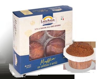 Muffin senza glutine LuisAnna
