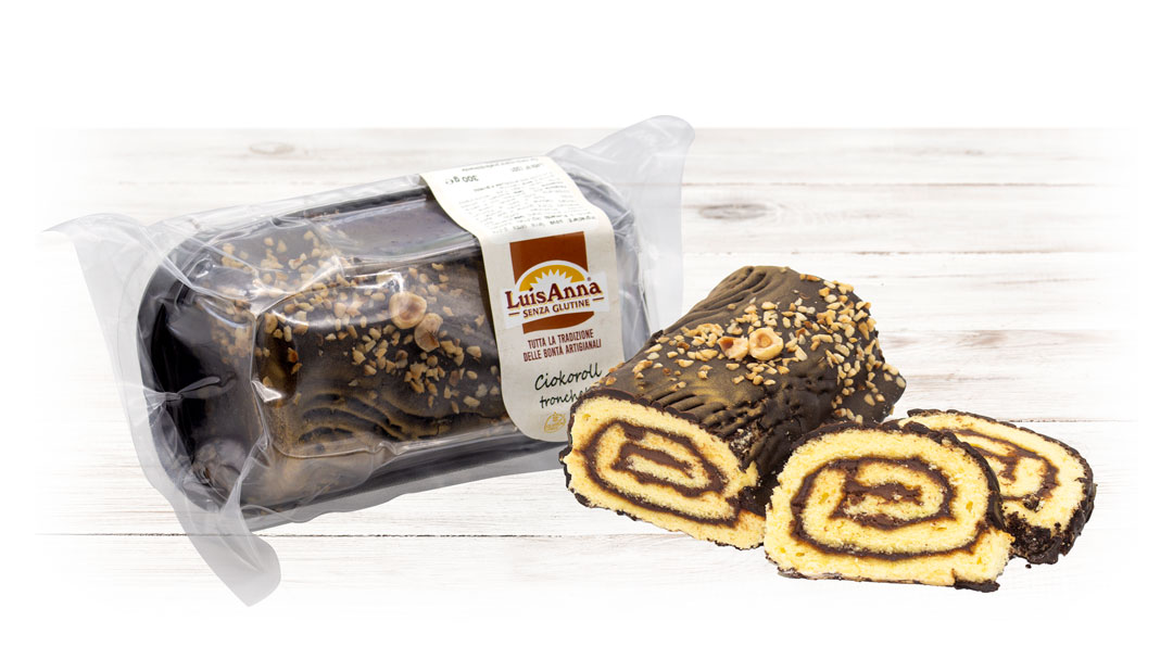 CiokoRoll tronchetto senza glutine LuisAnna gluten free