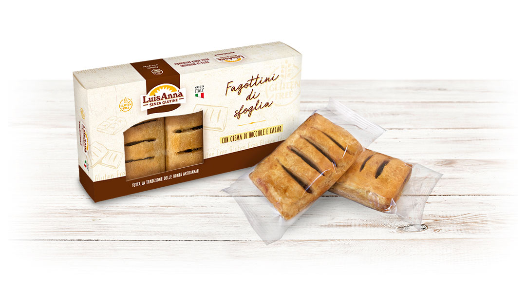 Fagottini senza glutine LuisAnna gluten free