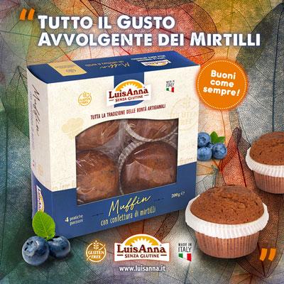 I Muffin senza glutine LuisAnna